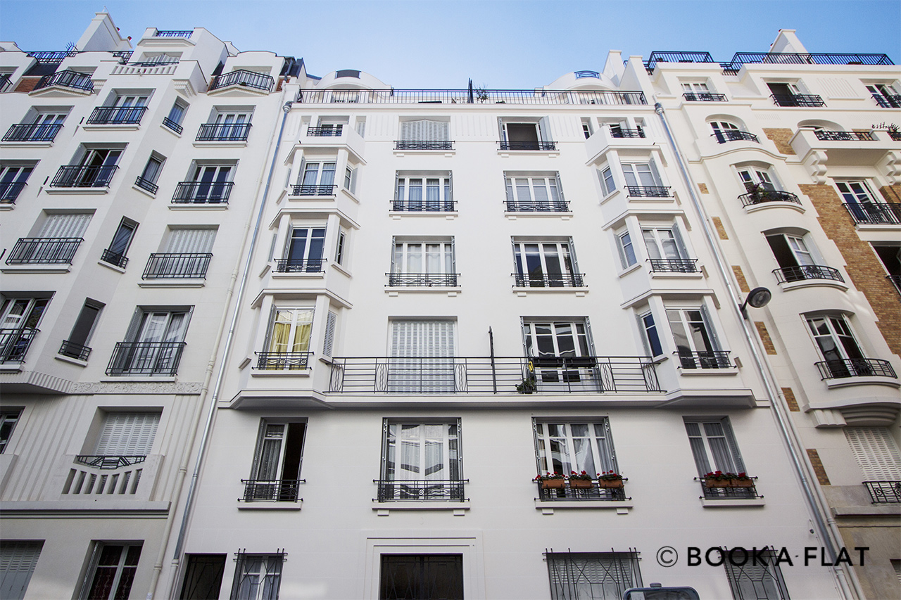 Apartment Paris Rue Alasseur 12