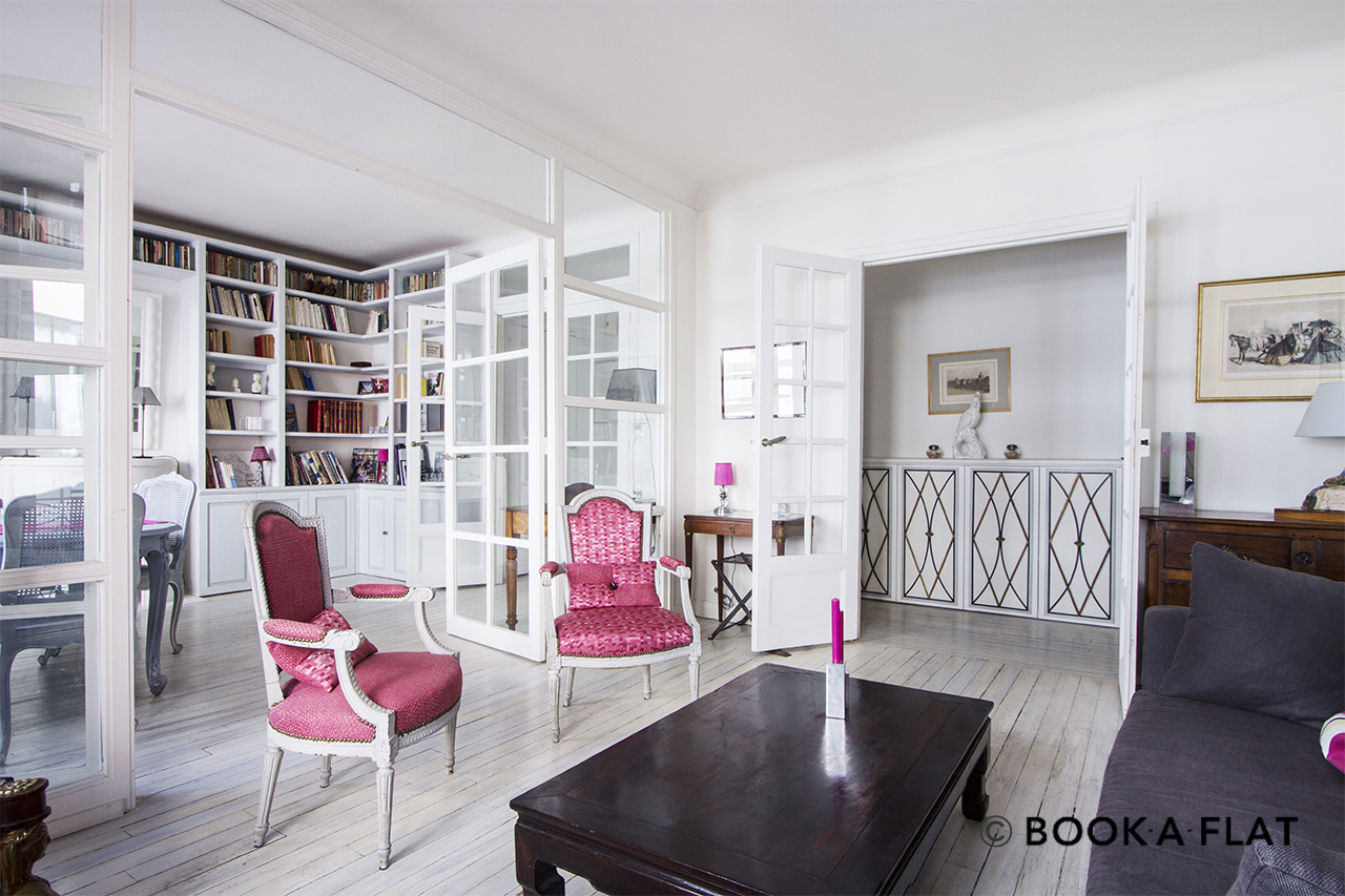 Paris Rue Alasseur Apartment for rent