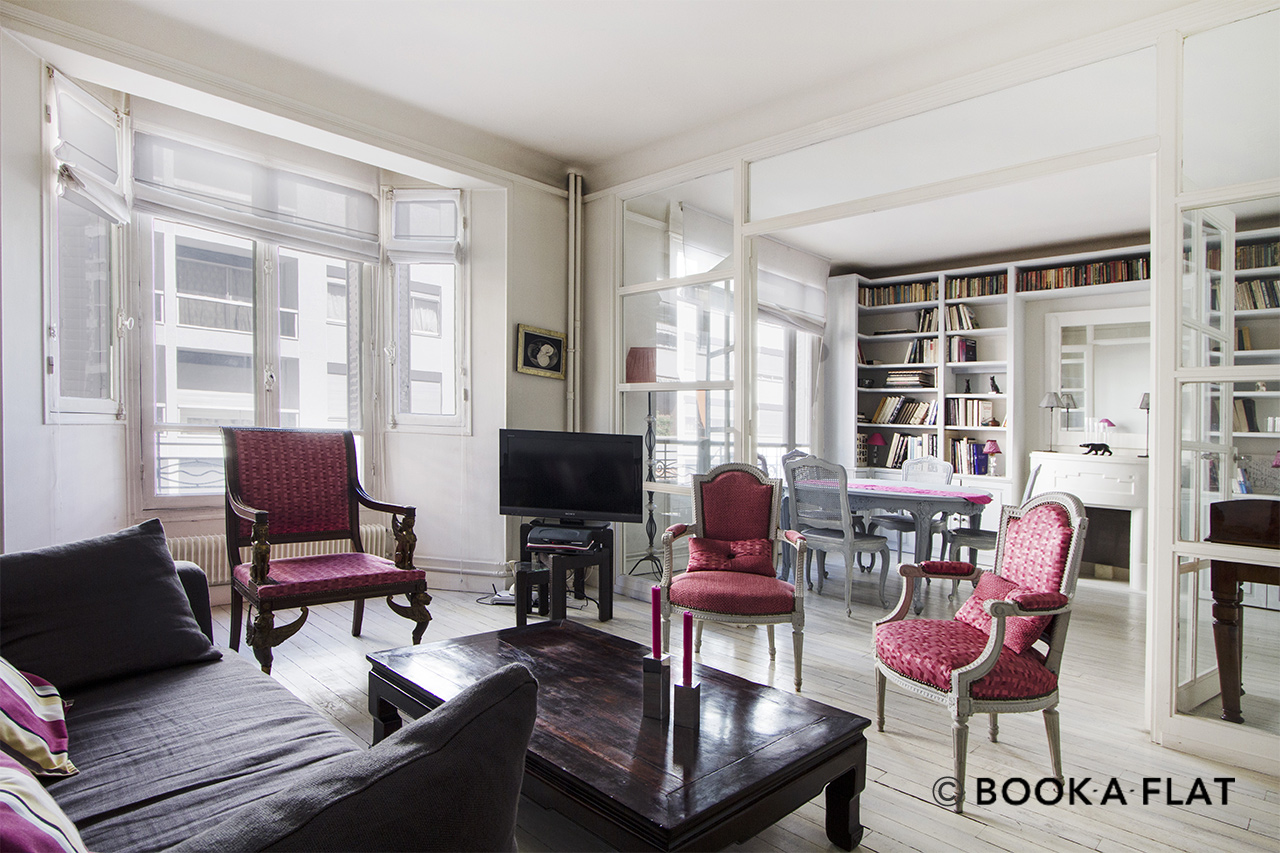 Furnished apartment for rent Paris Rue Alasseur
