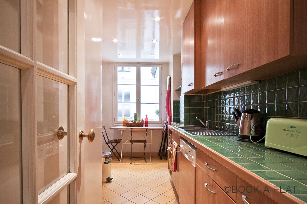 Appartement Paris Rue Brey 5