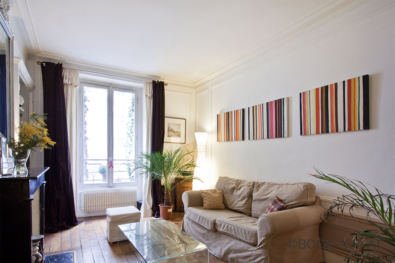 Appartement Paris Rue Brey 2