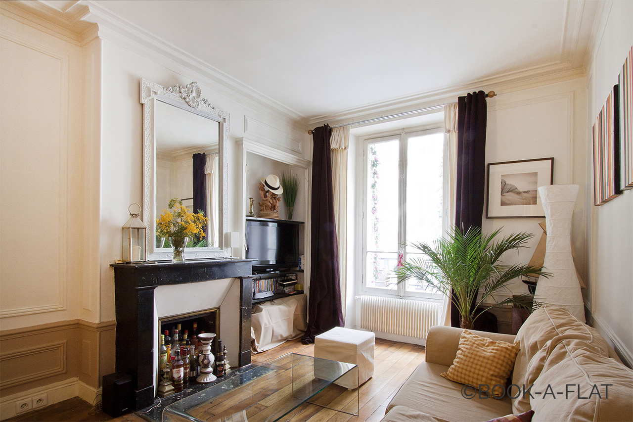 Appartement Paris Rue Brey 3