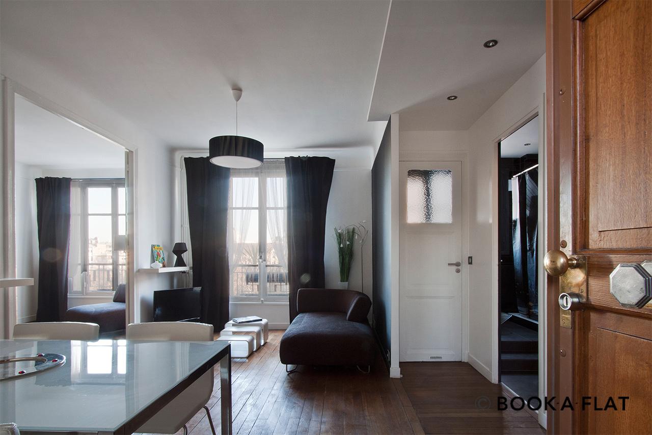 location appartement meubl rue boissonade paris ref 4326. Black Bedroom Furniture Sets. Home Design Ideas