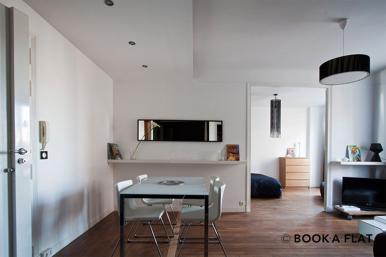 Appartement Paris Rue Boissonade 2