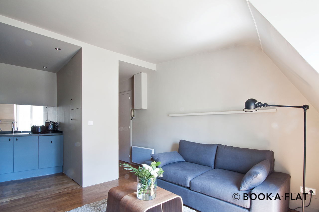 Furnished apartment for rent Paris Rue Dupuytren