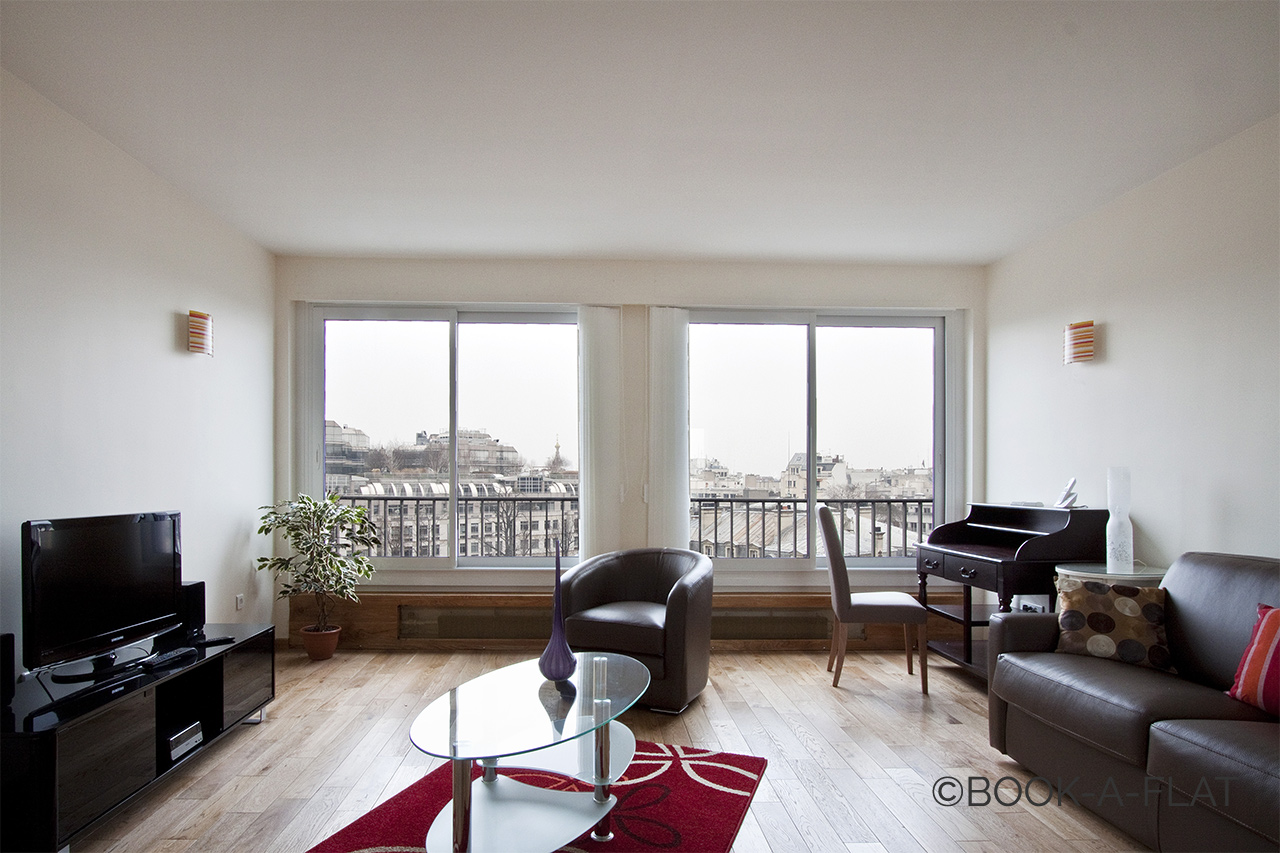 Furnished apartment for rent Paris Avenue de Friedland