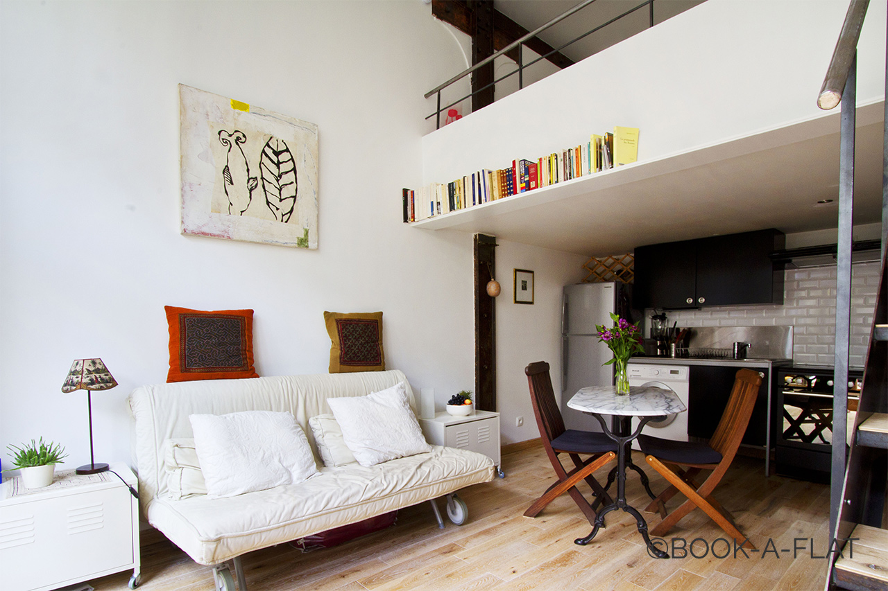 Paris Rue Rampal Apartment for rent