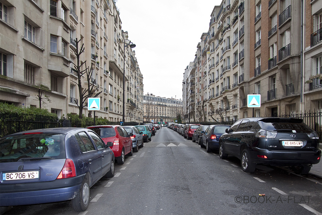 Appartement Paris Rue du Dobropol 9