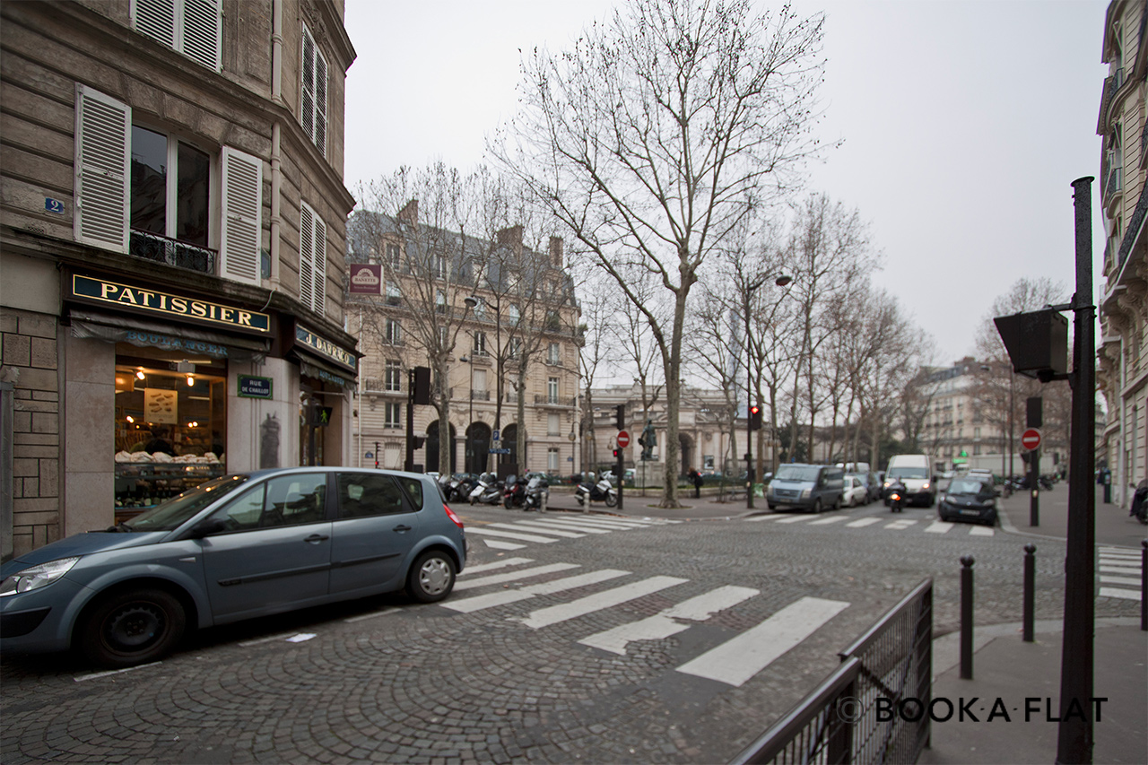 Квартира Paris Rue de Chaillot 12