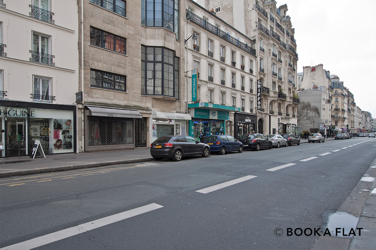 Apartment Paris Rue Lecourbe 12
