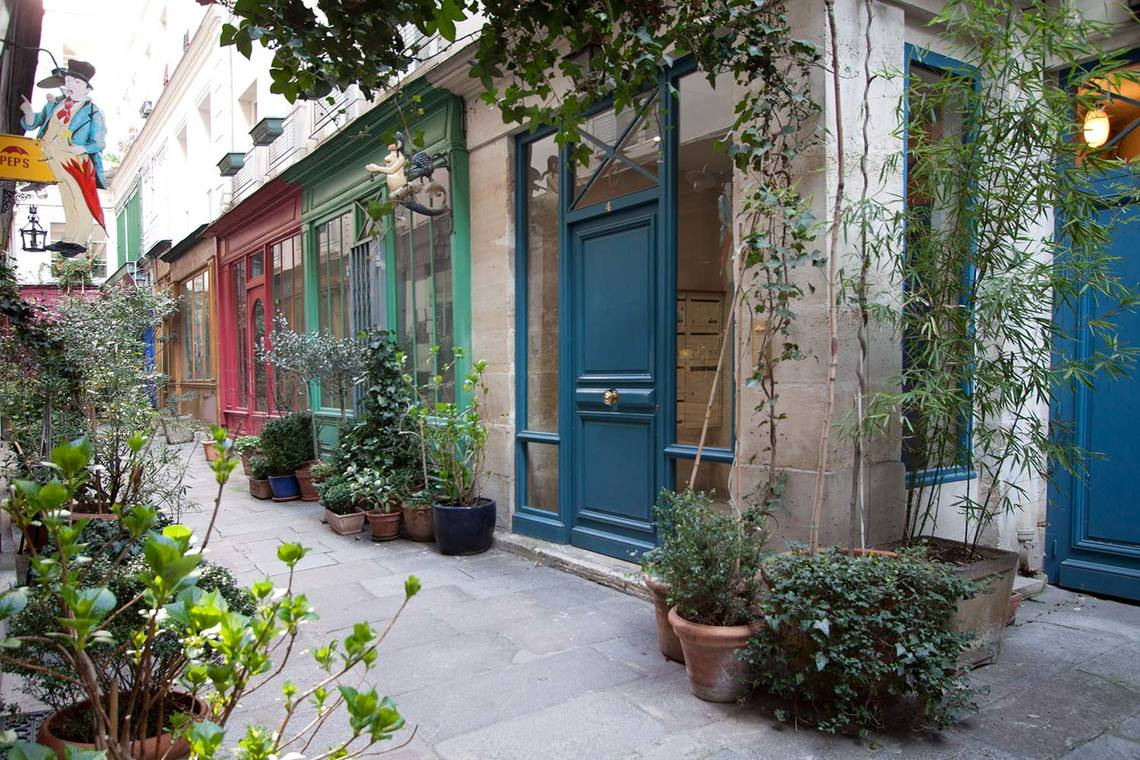Квартира Paris Rue Saint Martin 10