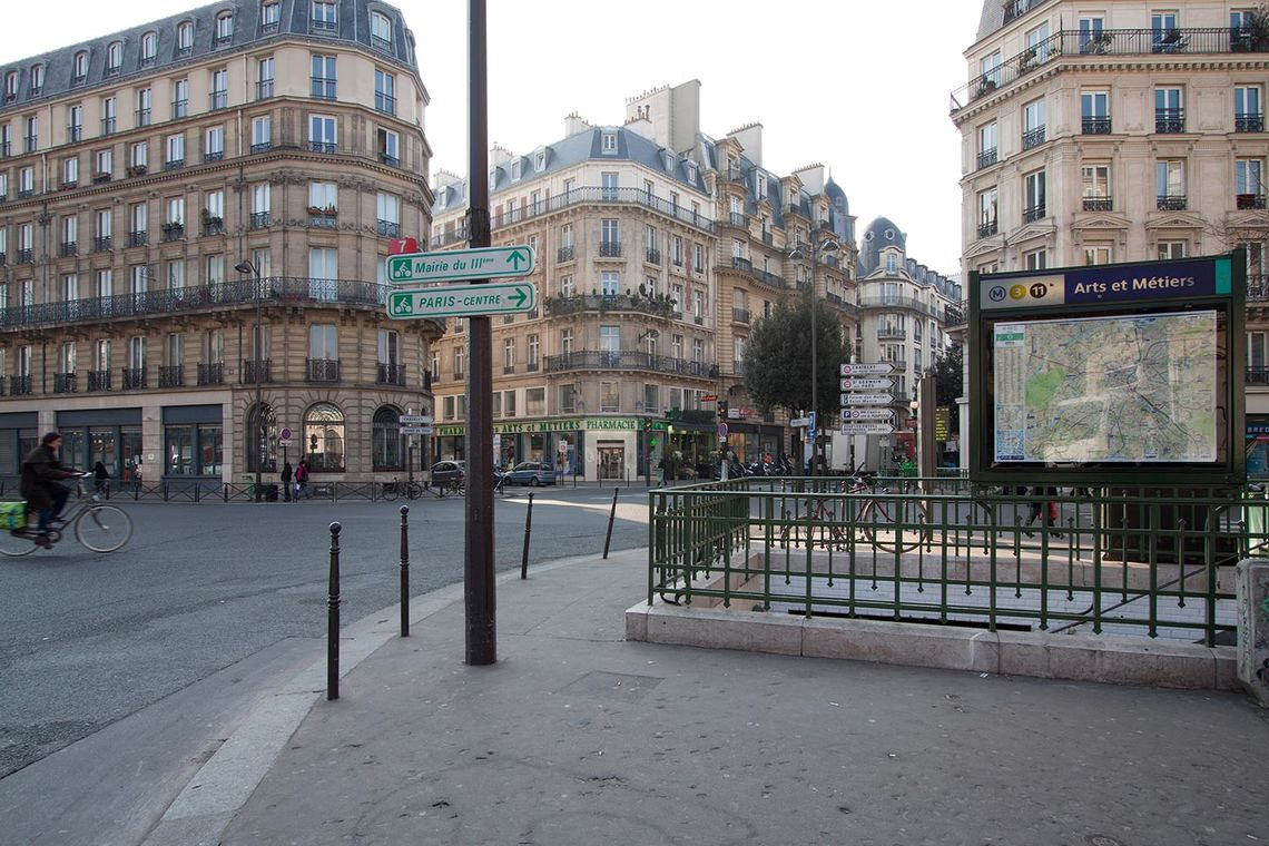Квартира Paris Rue Saint Martin 12
