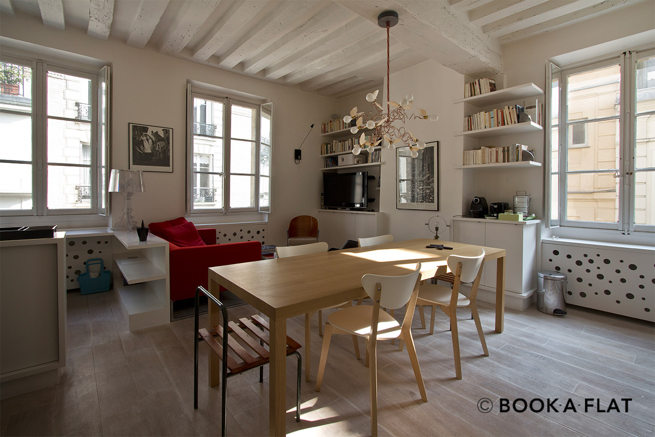 Furnished apartment for rent Paris Rue du Canivet