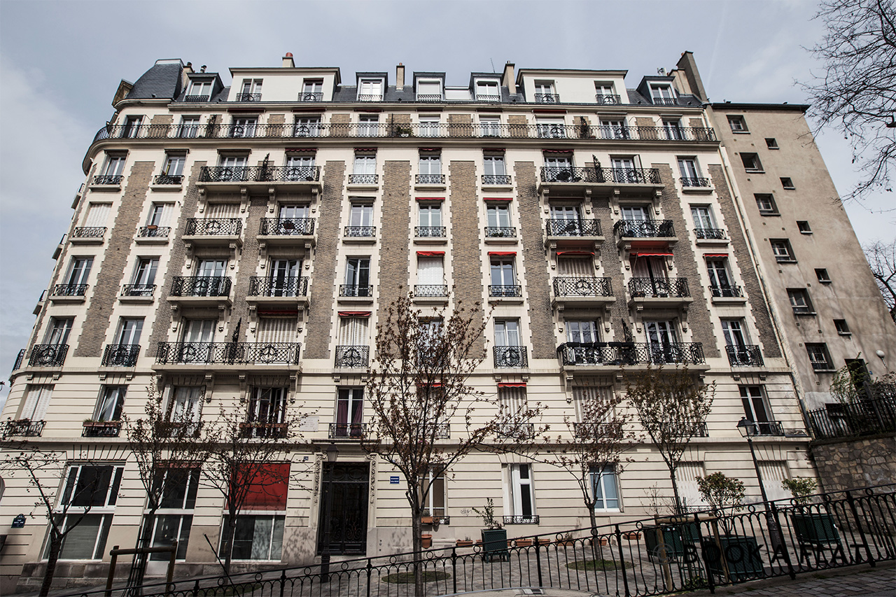 Appartement Paris Place Marcel Aymé 12