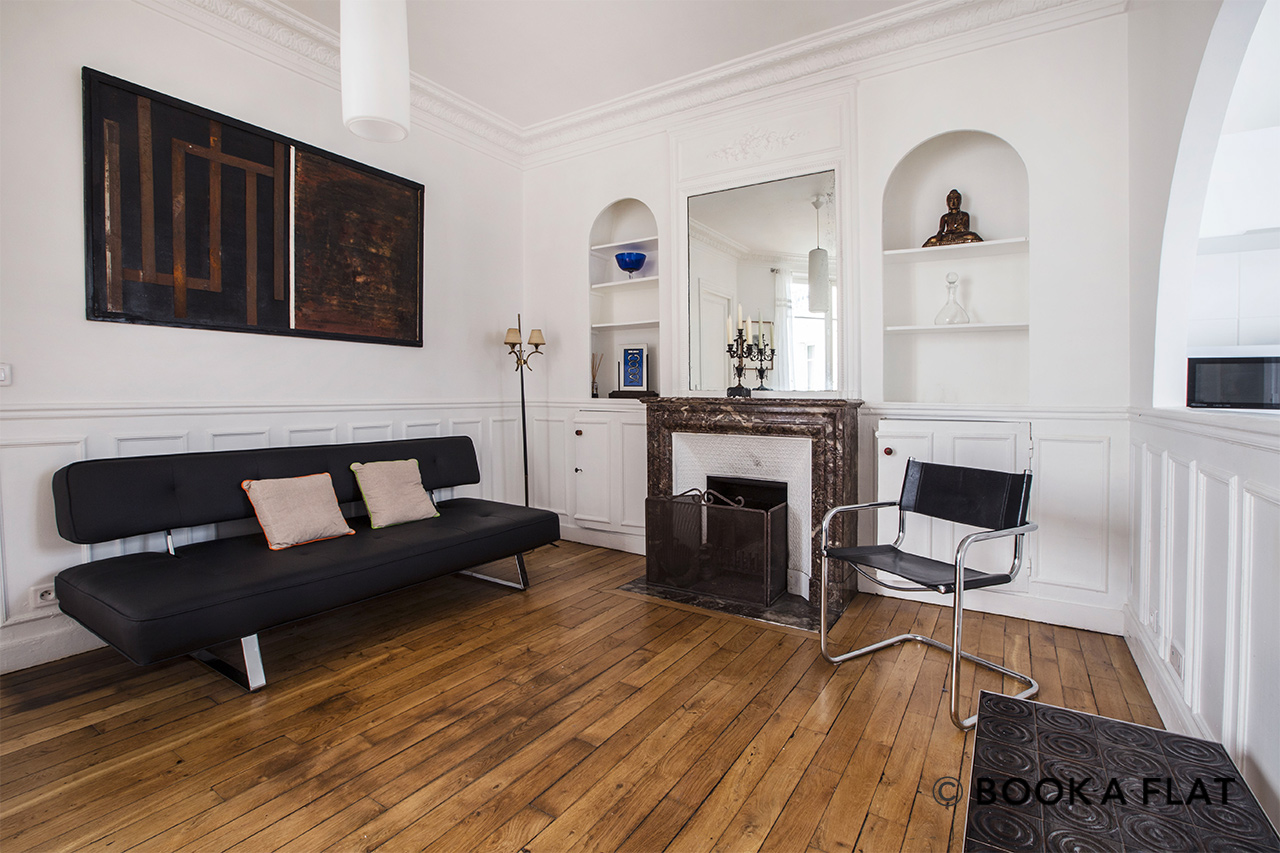 Furnished apartment for rent Paris Place Marcel Aymé