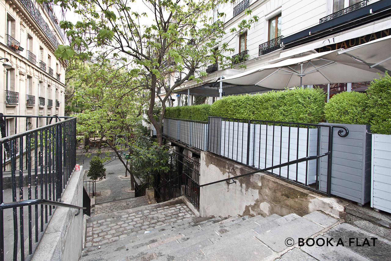Apartment Paris Rue Lamarck 9