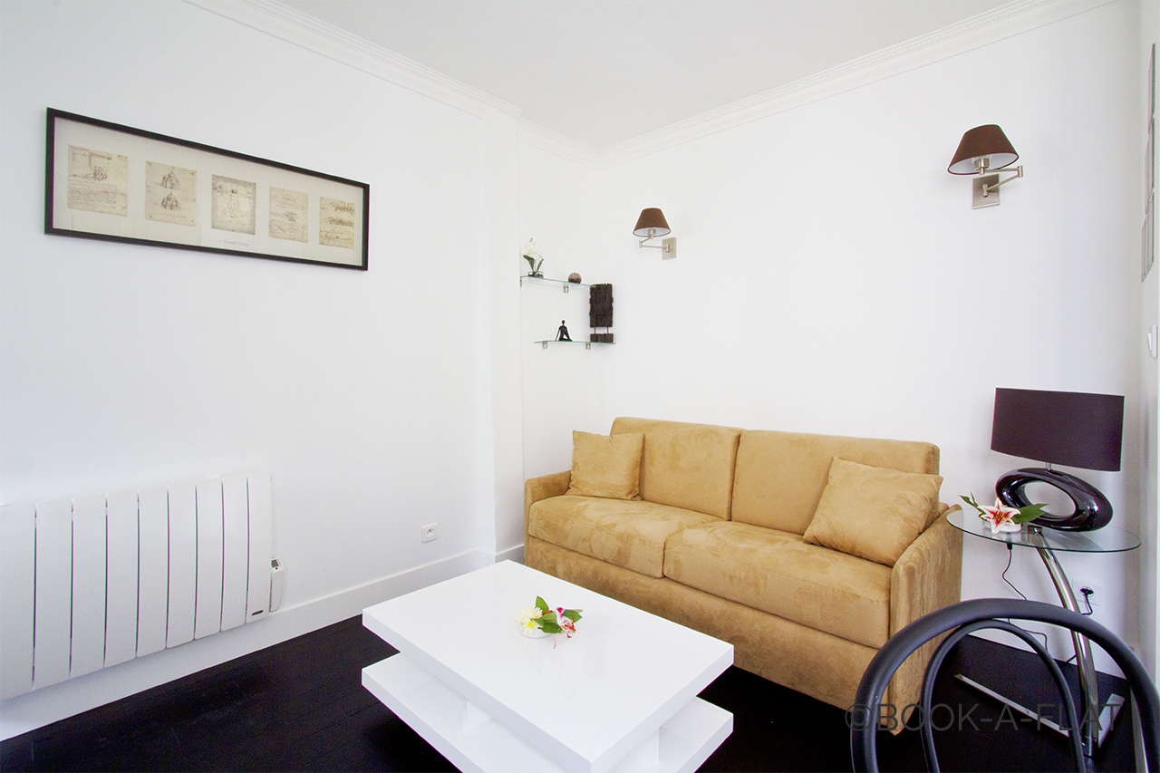 Apartment Paris Rue du Cardinal Lemoine 3