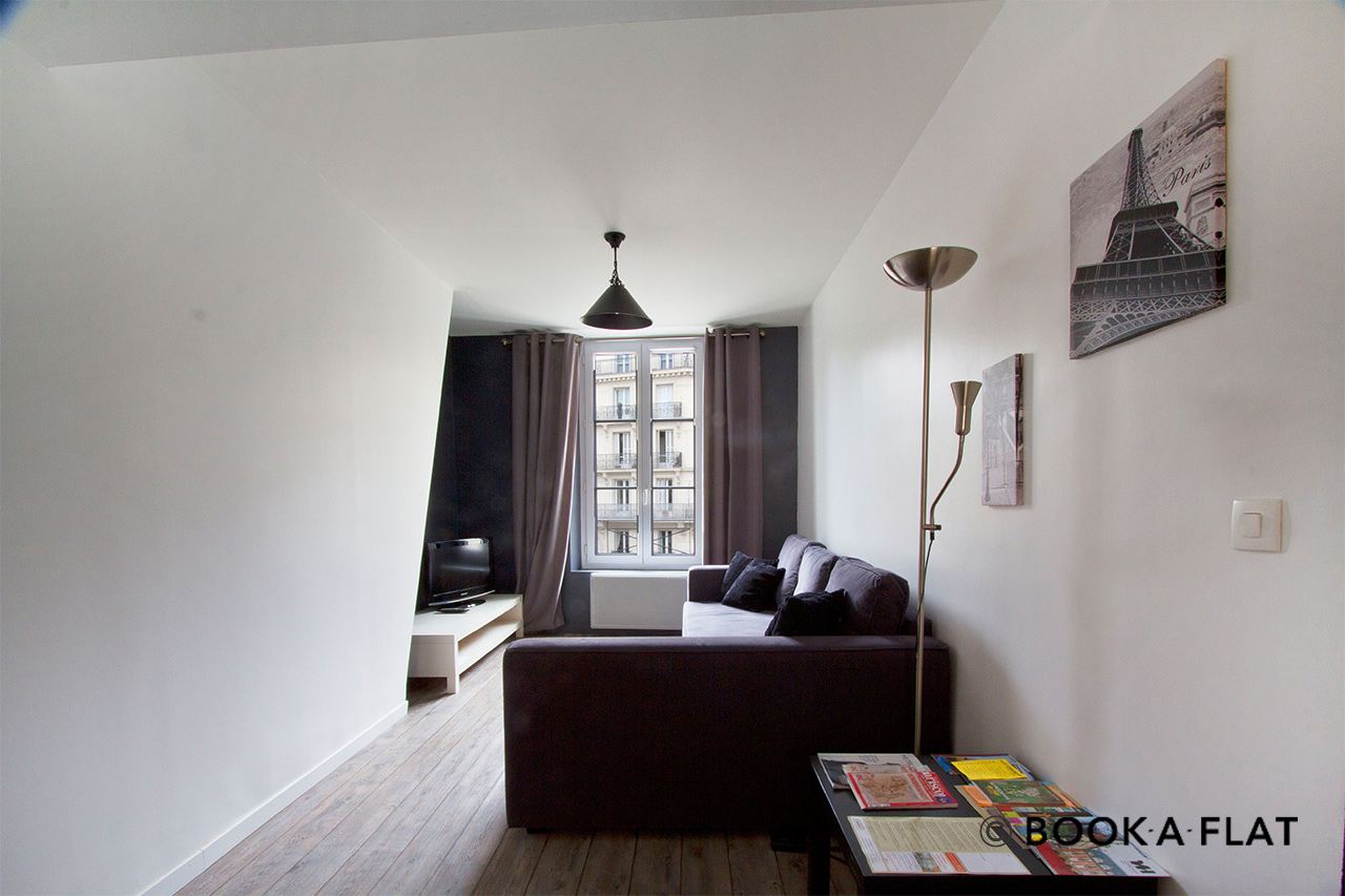 Furnished apartment for rent Paris Rue Maître Albert