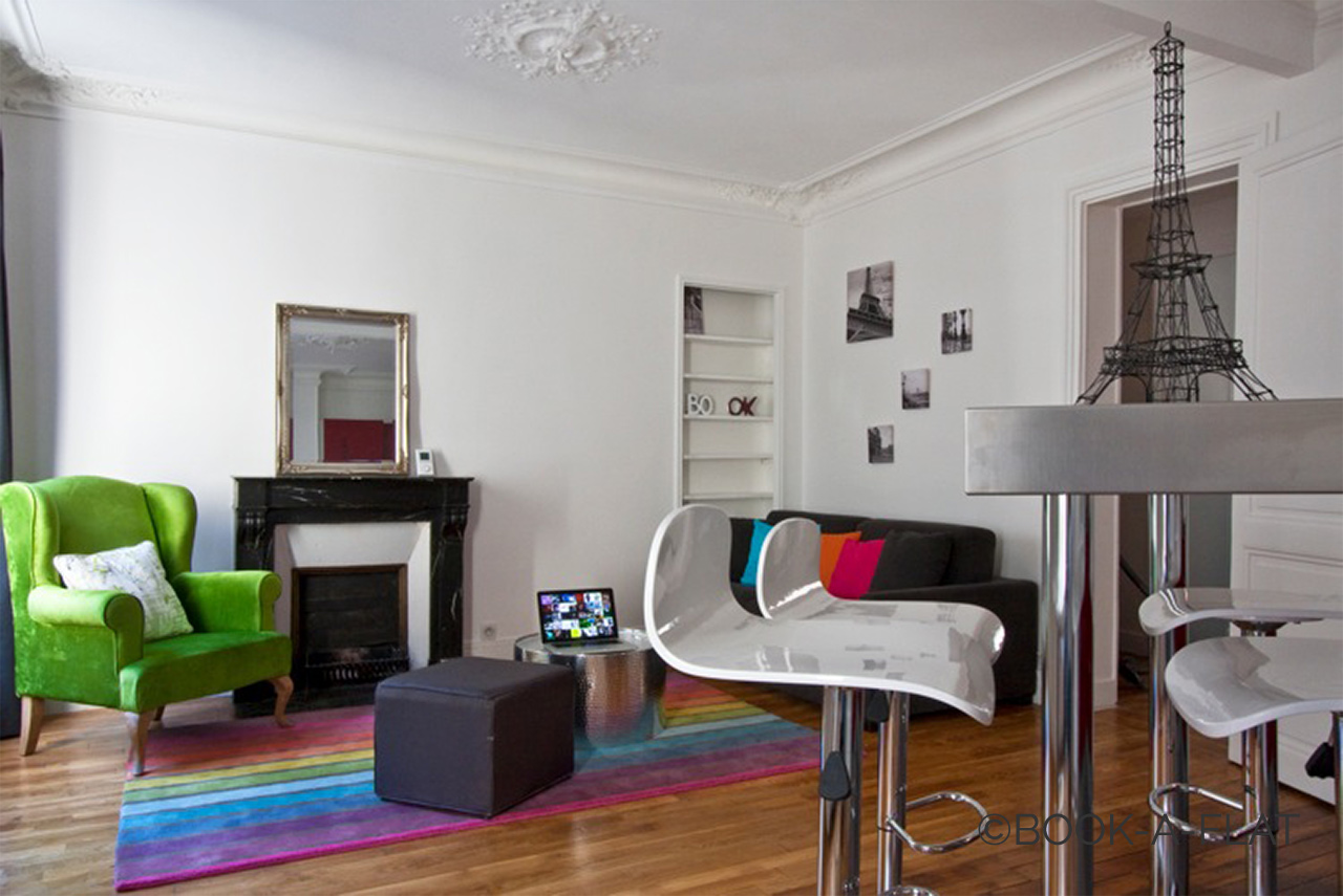 Apartment Paris Simart 4