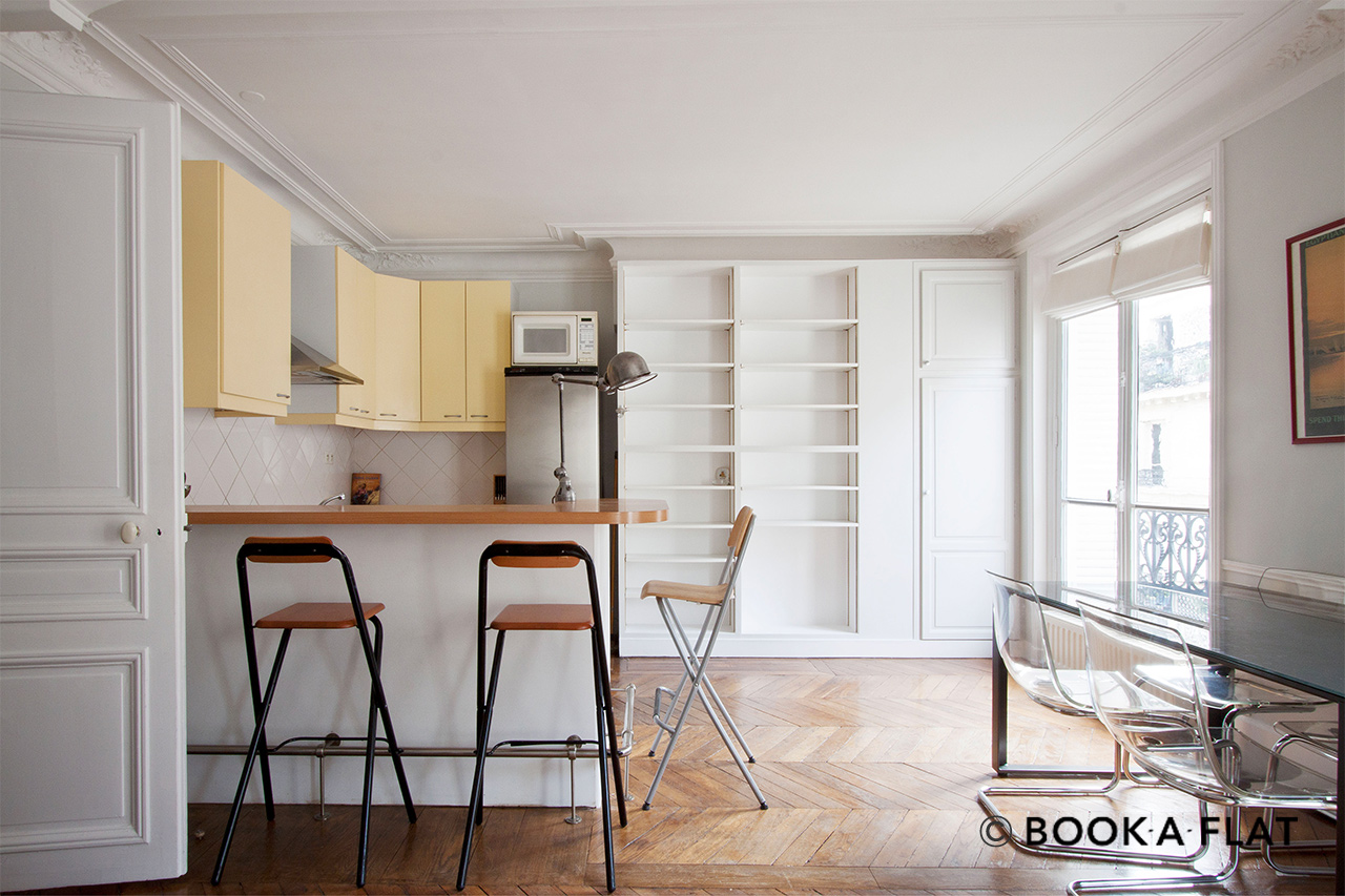 Apartment Paris Rue Barye 2