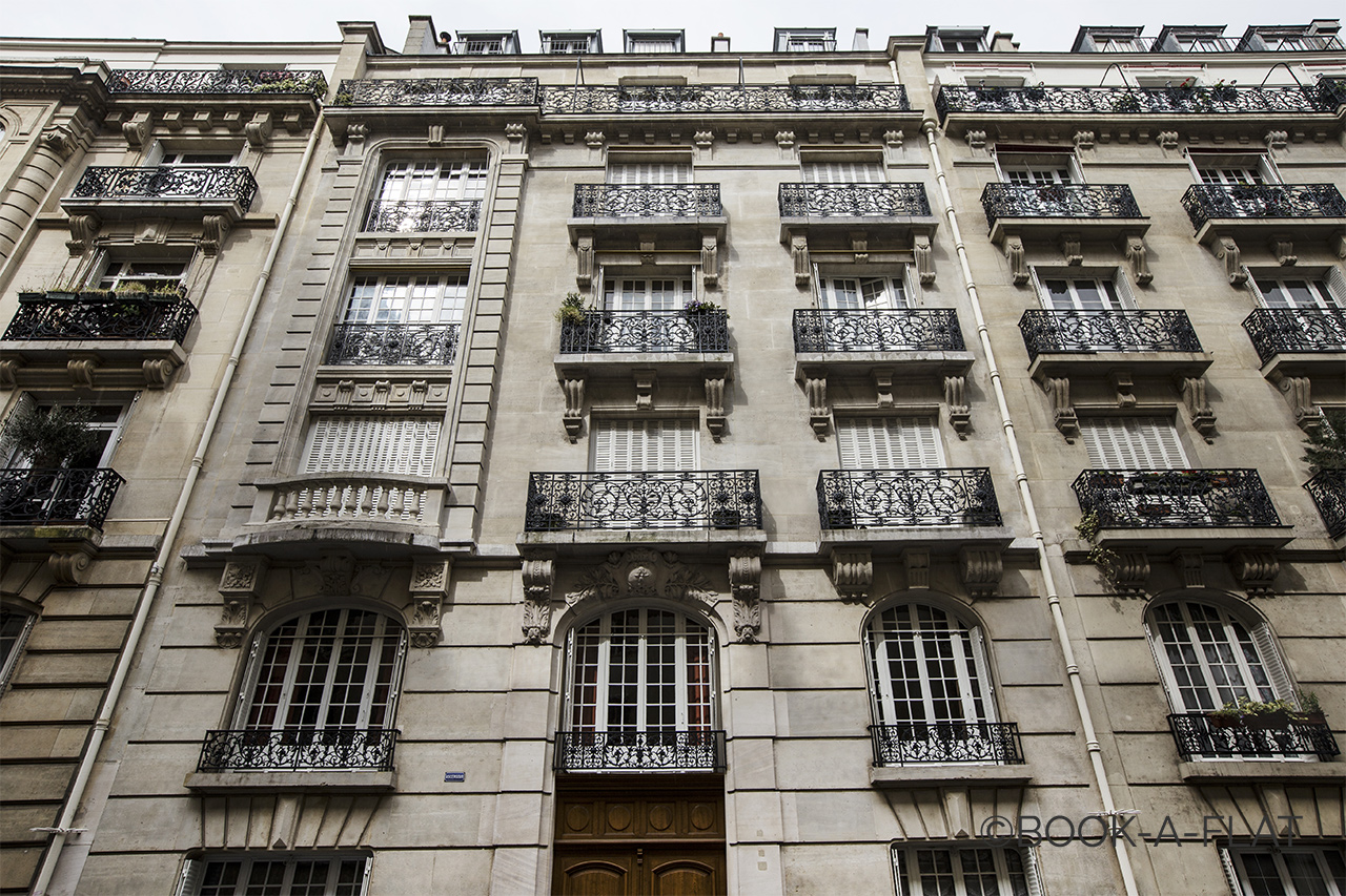 Квартира Paris Rue Lalo 9