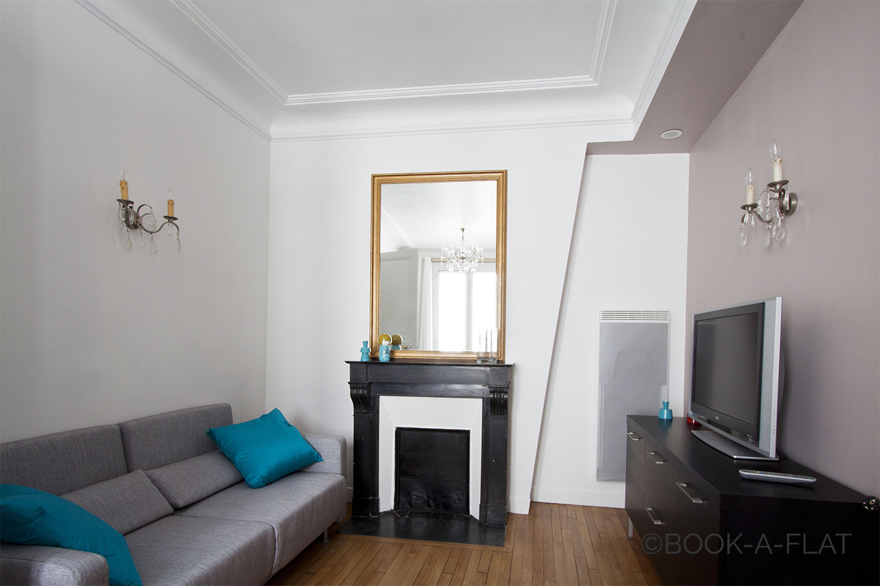 Furnished apartment for rent Paris Rue Daru