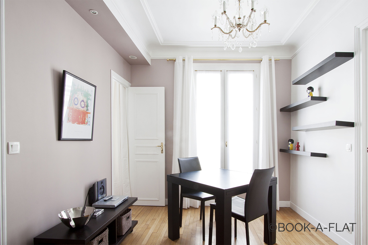 Paris Rue Daru Apartment for rent