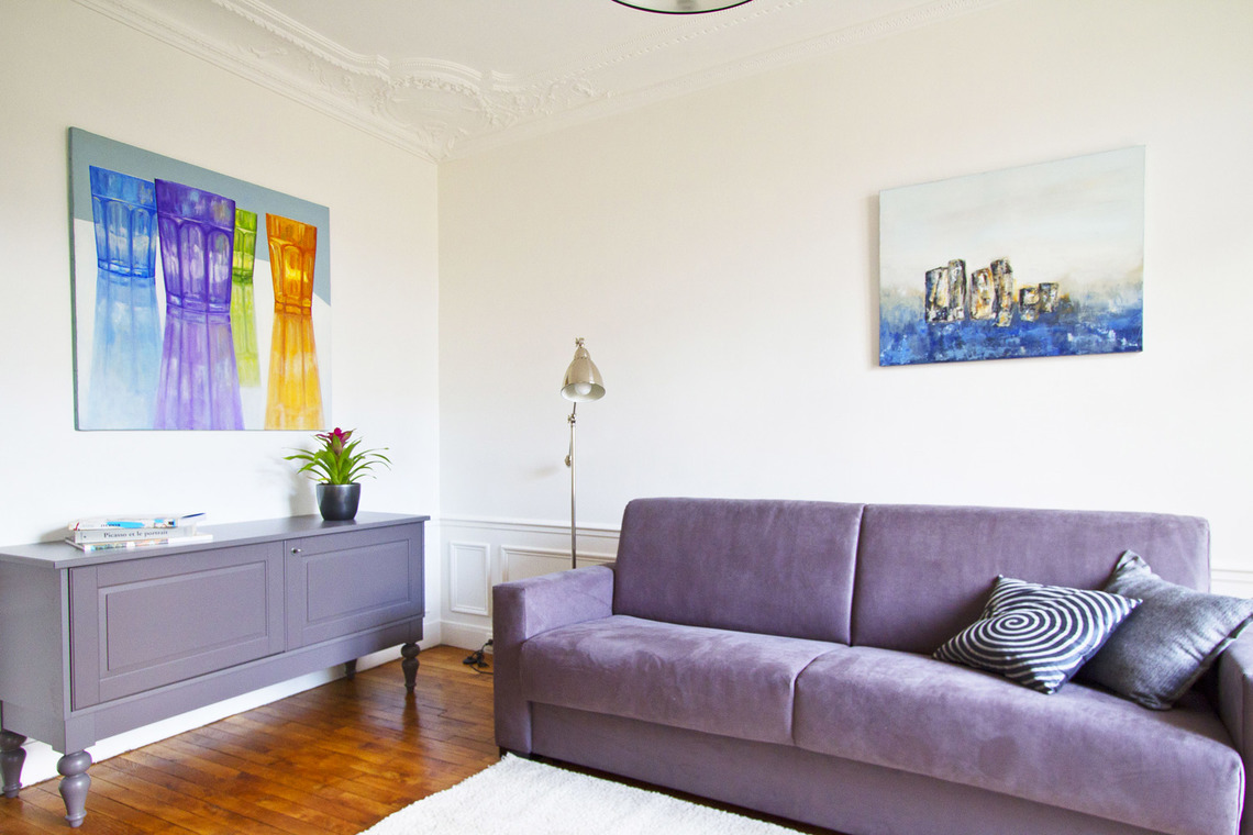 Appartement Paris Rue Oscar Roty 4