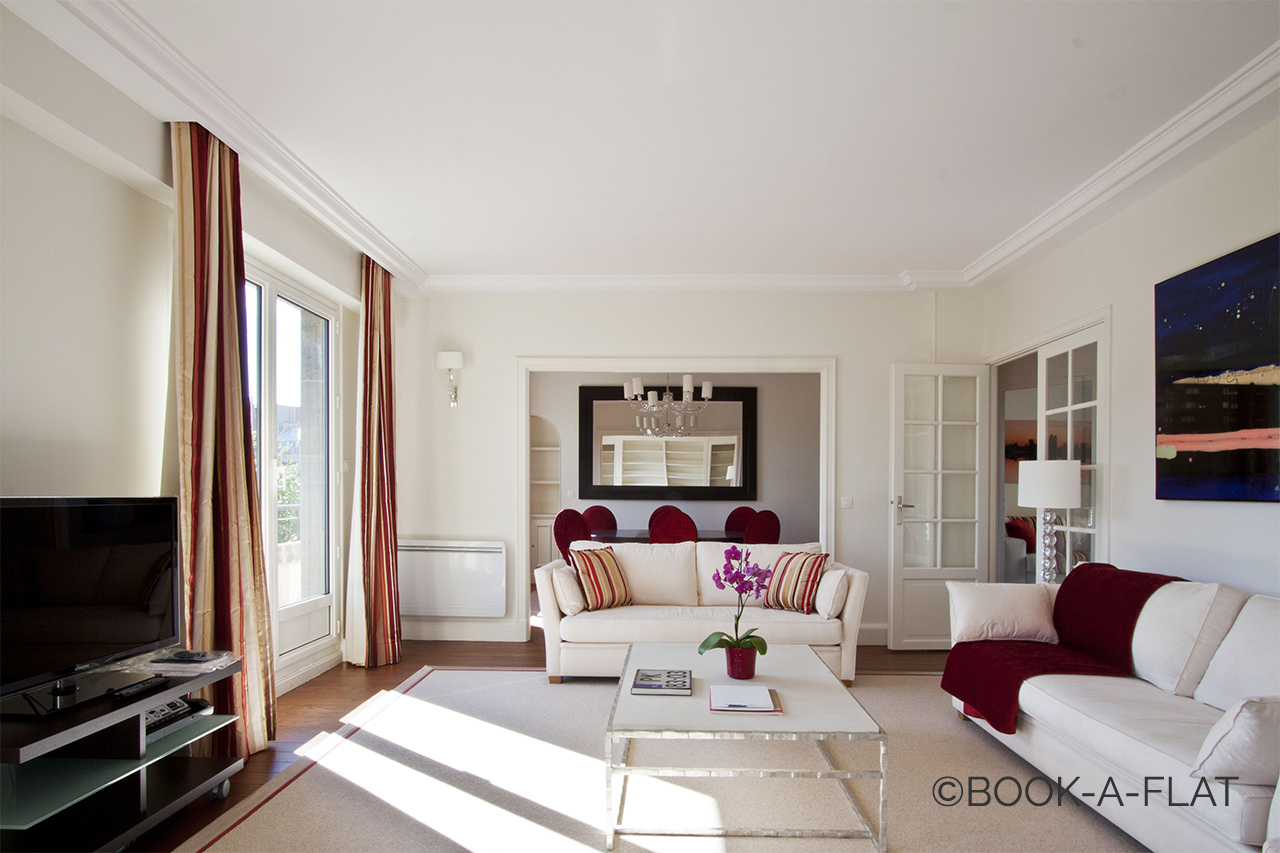 Furnished apartment for rent Paris Rue d'Assas
