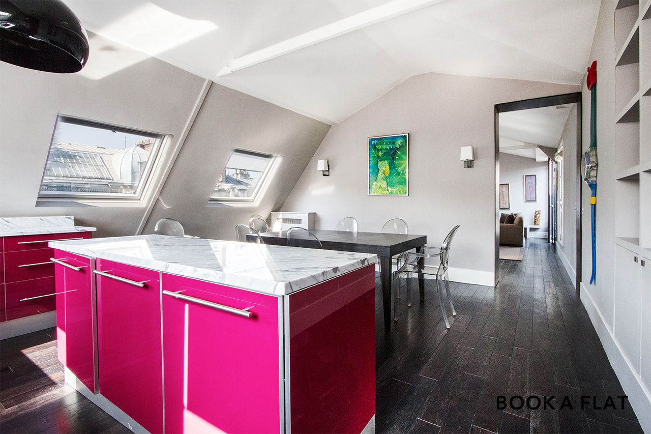 Apartment Paris Rue de Courcelles 7