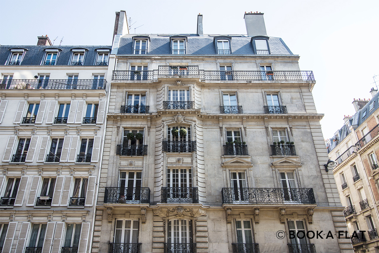 Apartment Paris Rue de Courcelles 13
