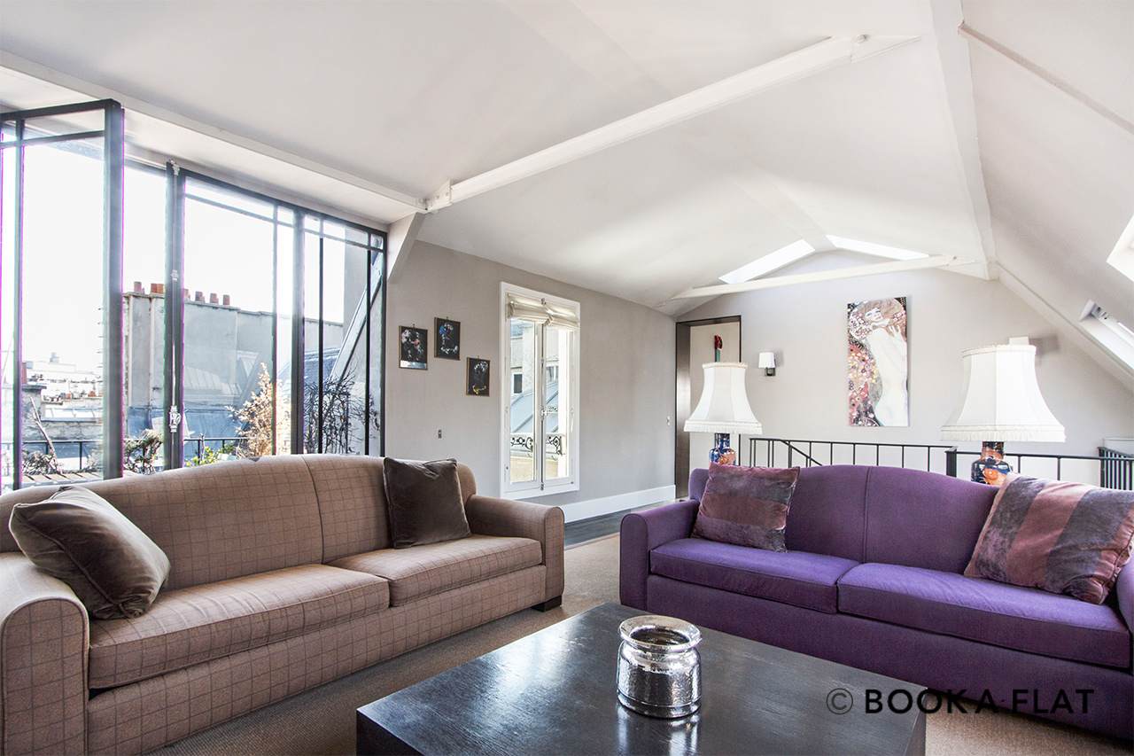 Furnished apartment for rent Paris Rue de Courcelles