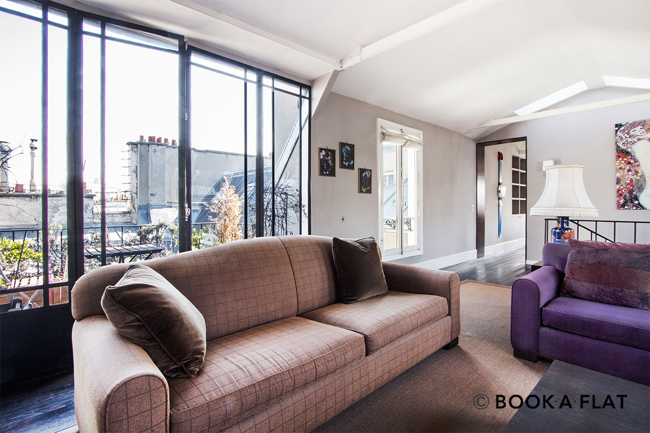 Apartment Paris Rue de Courcelles 4