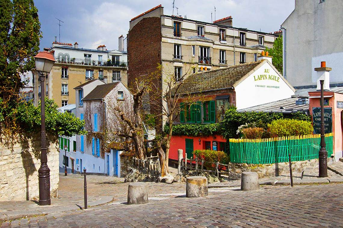 Квартира Paris Rue Lamarck 12