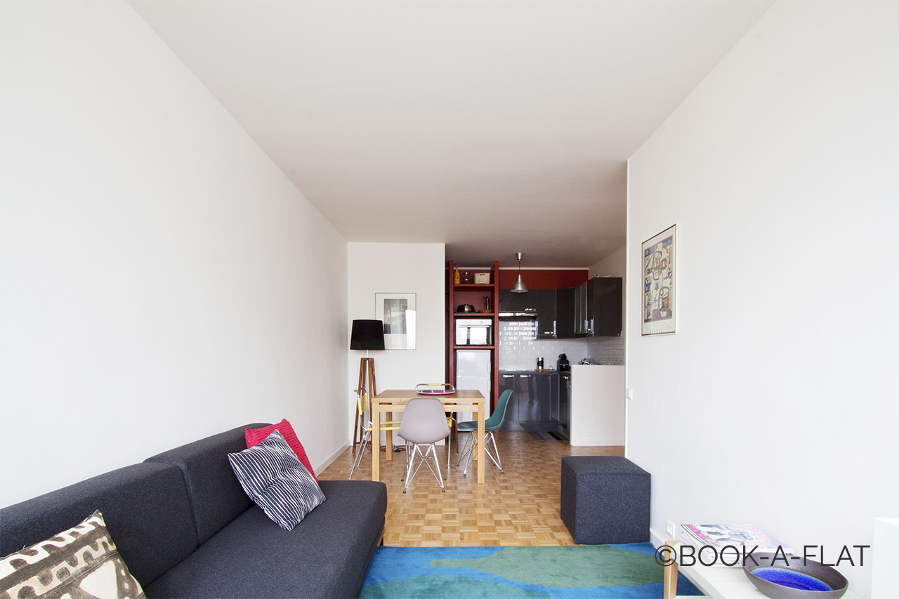 Furnished apartment for rent Paris Rue Pernety