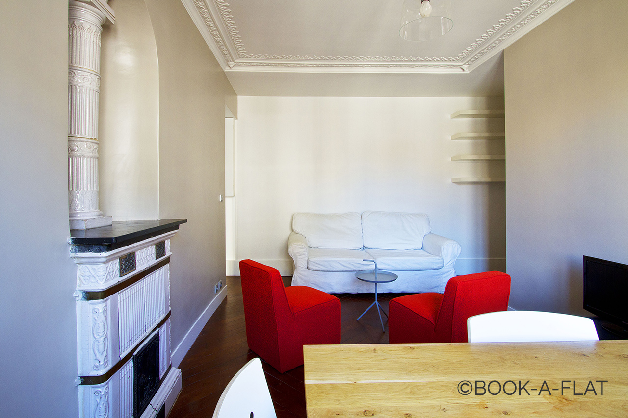 Furnished apartment for rent Paris Rue du Faubourg Saint Martin