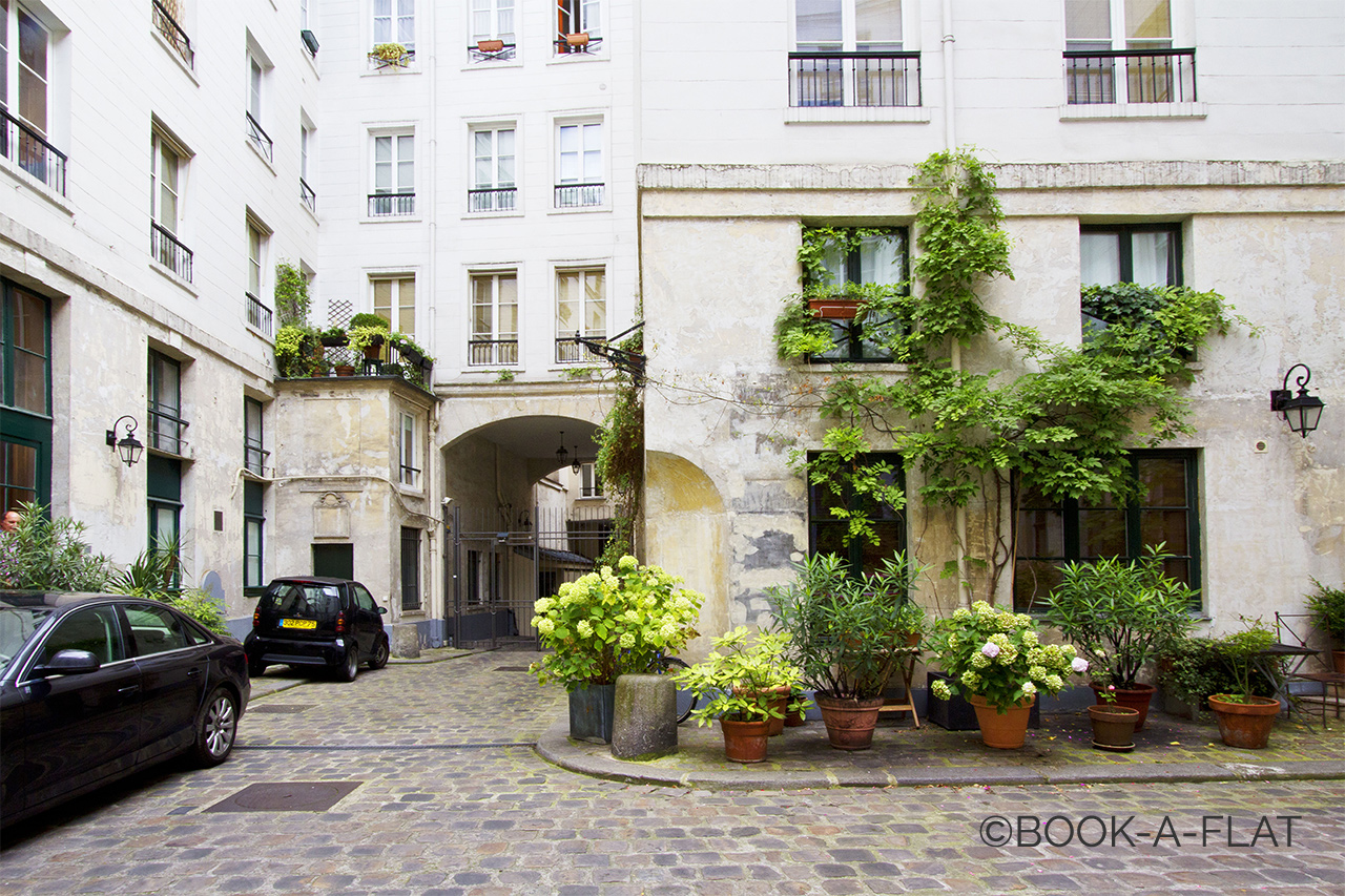 Appartement Paris Rue du Bouloi 8