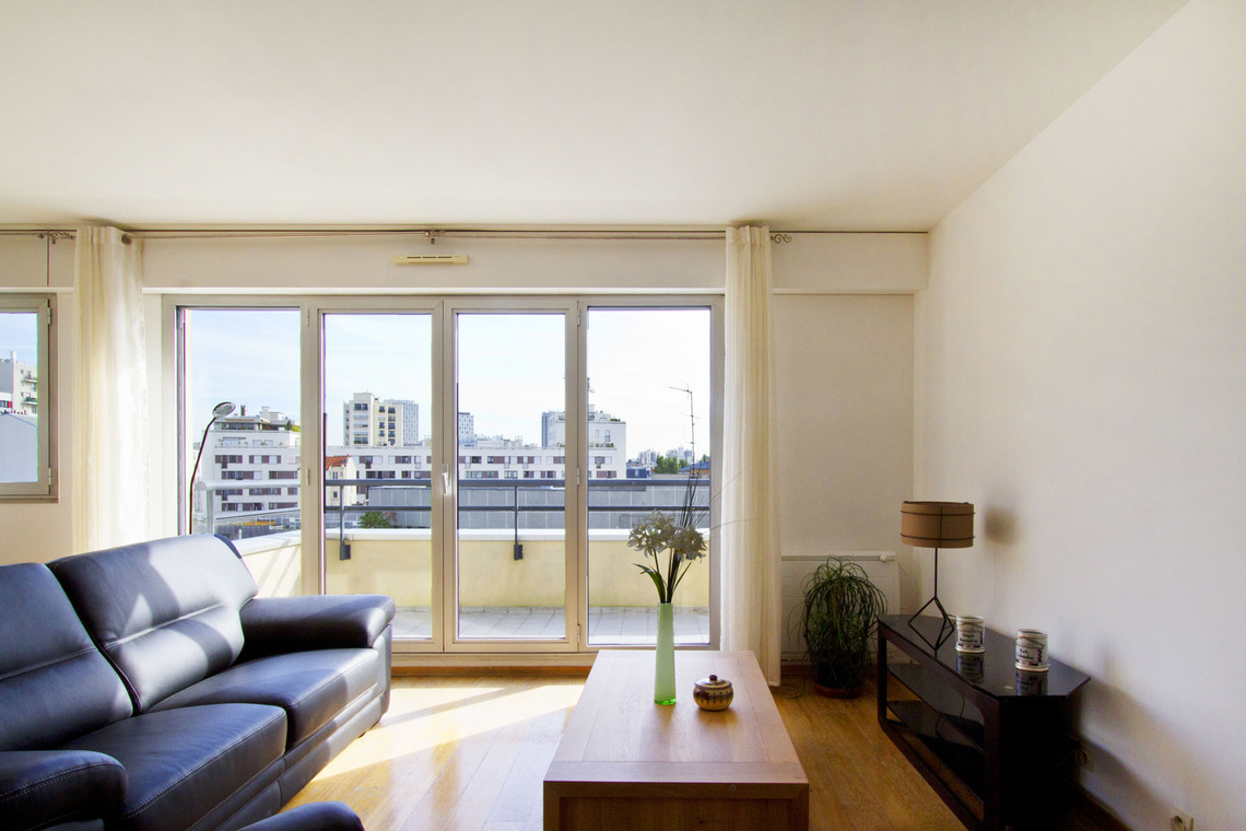 Furnished apartment for rent Paris Rue Planchat