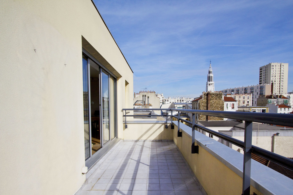 Appartement Paris Rue Planchat 12