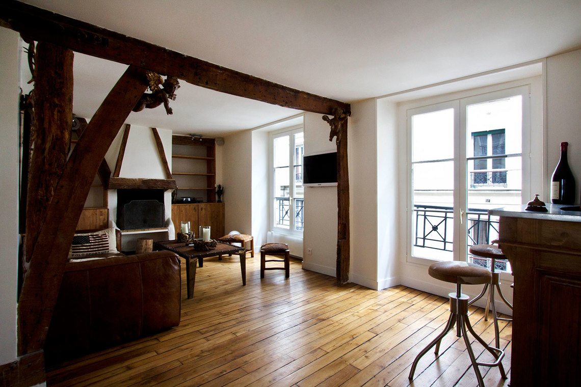 Apartment Paris Rue Pecquay 2