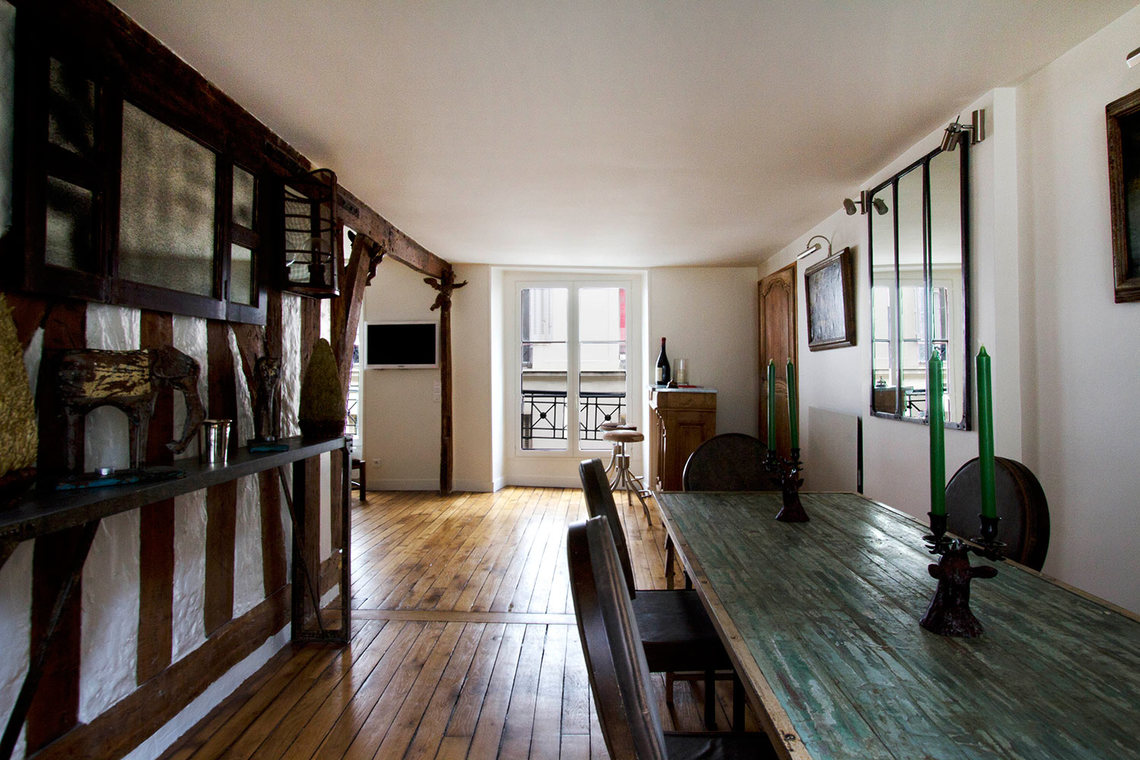Apartment Paris Rue Pecquay 4