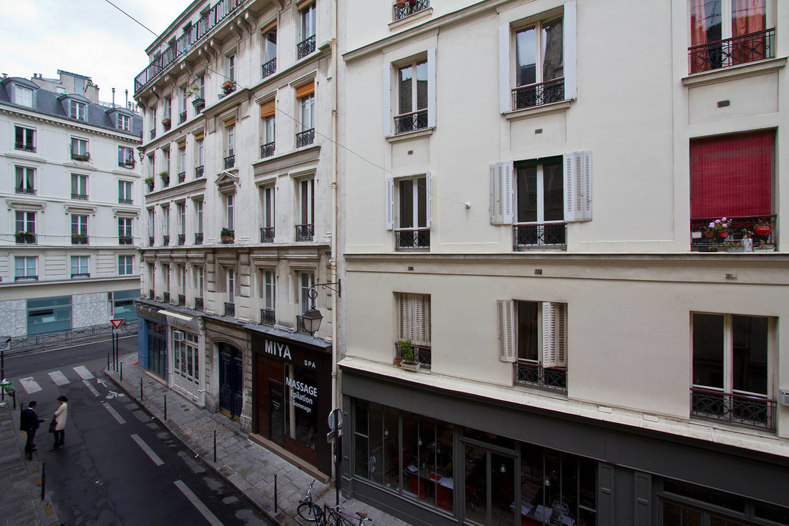 Apartment Paris Rue Pecquay 13
