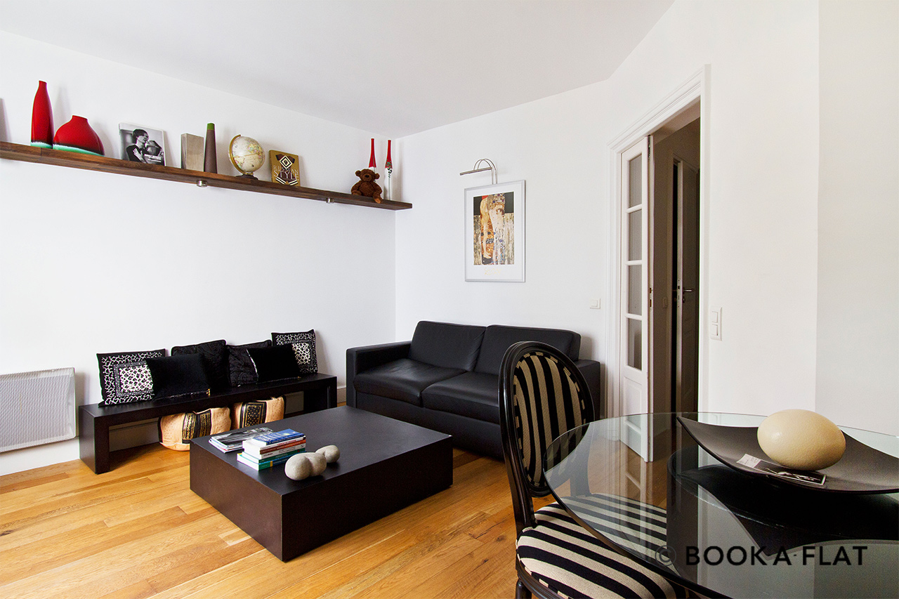 Furnished apartment for rent Paris Rue de Chaillot