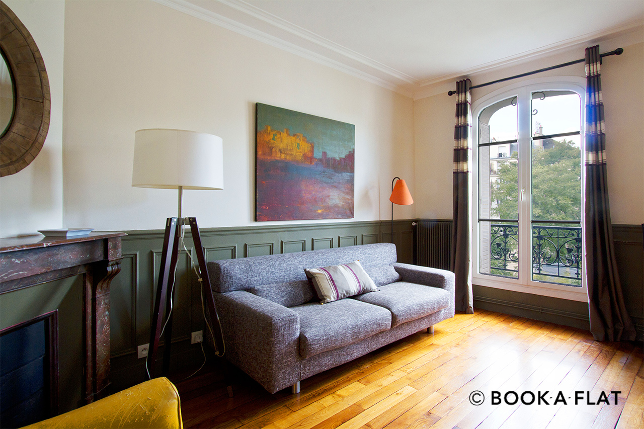 Furnished apartment for rent Paris Rue Lepic