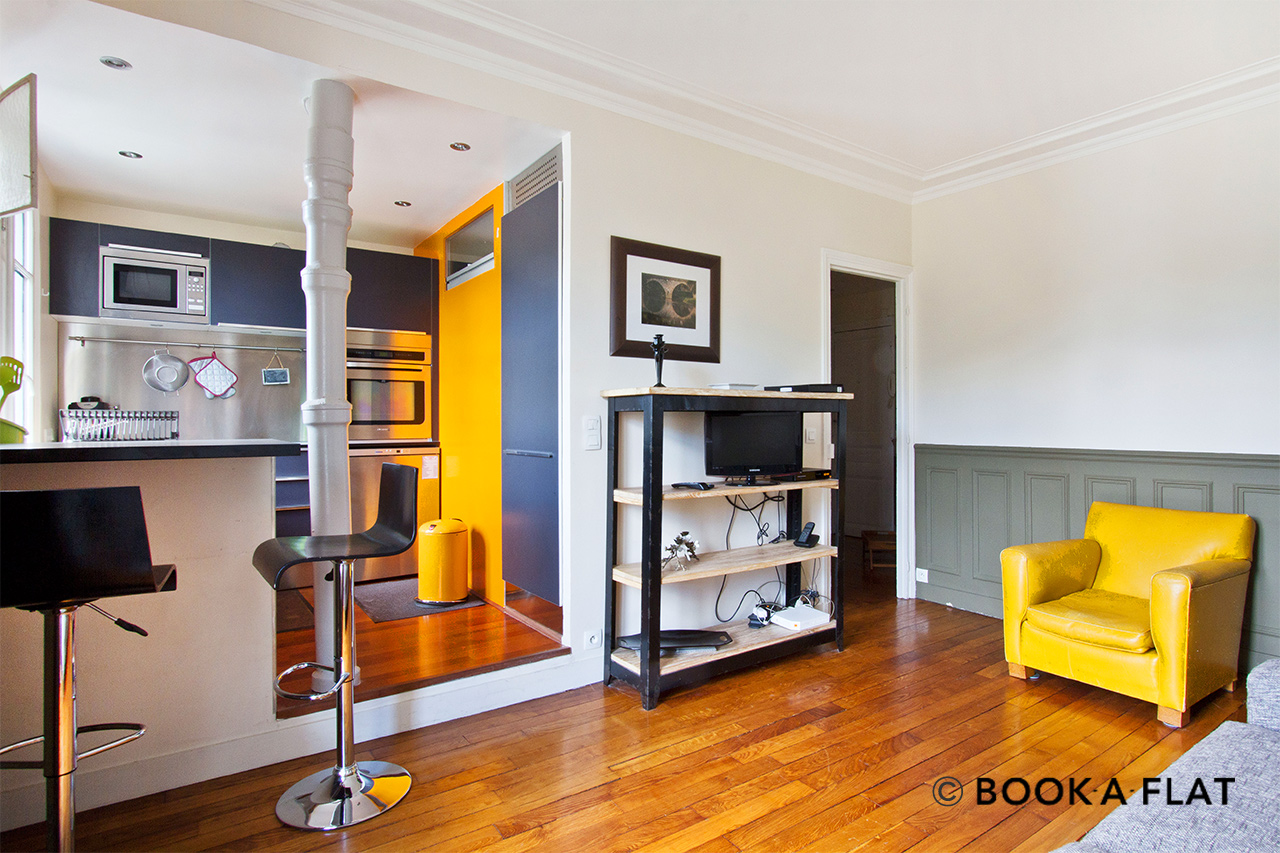 Appartement Paris Rue Lepic 3