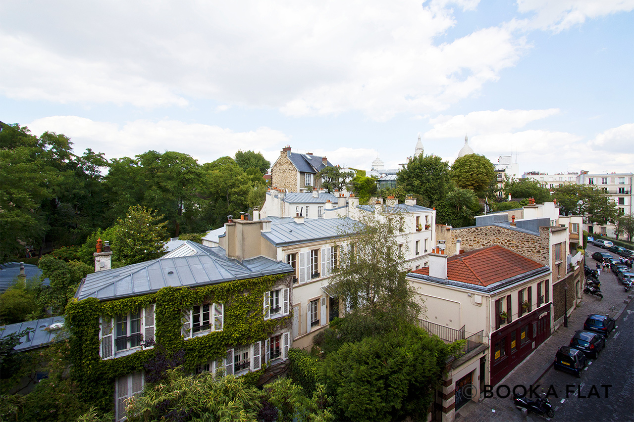 Appartement Paris Rue Lepic 9