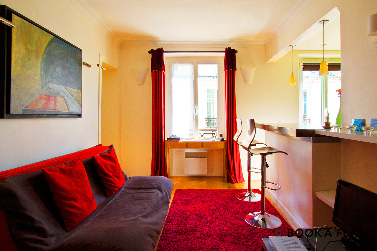 Furnished apartment for rent Paris Rue Véron