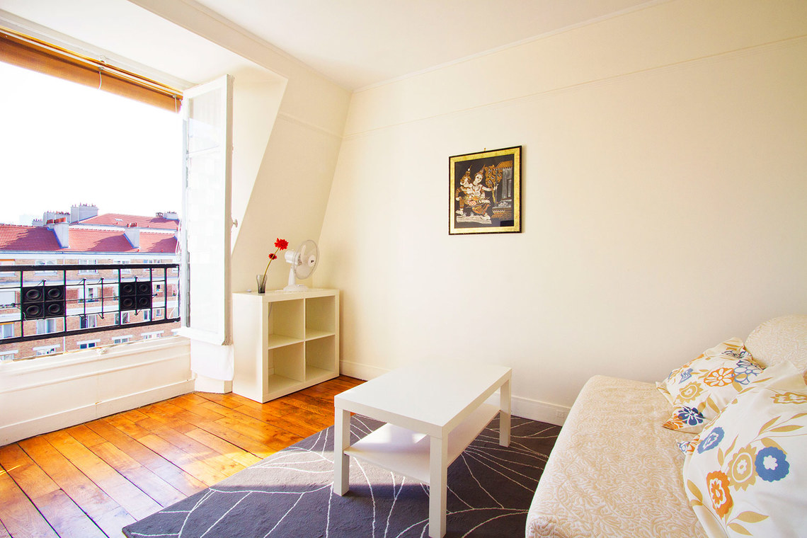 Furnished apartment for rent Paris Avenue Philippe-Auguste