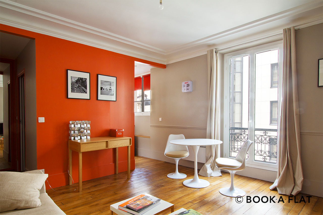 Appartement Paris Rue Greuze 3