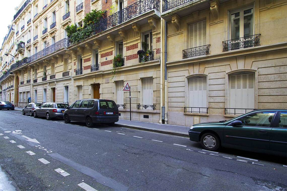 Appartement Paris Rue le Verrier 9
